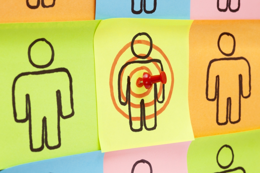 target audience, company blog